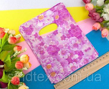 (45-50шт) Подарочные пакетики 18х14см, полиэтилен Цвет - на фото (сп7нг-0243)