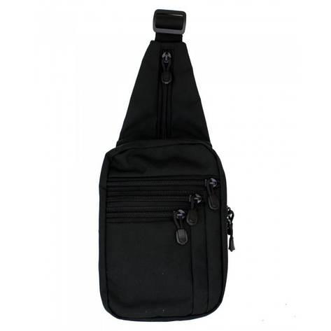 Сумка через плечо для скрытого ношения оружия A-Line черная, фото 2