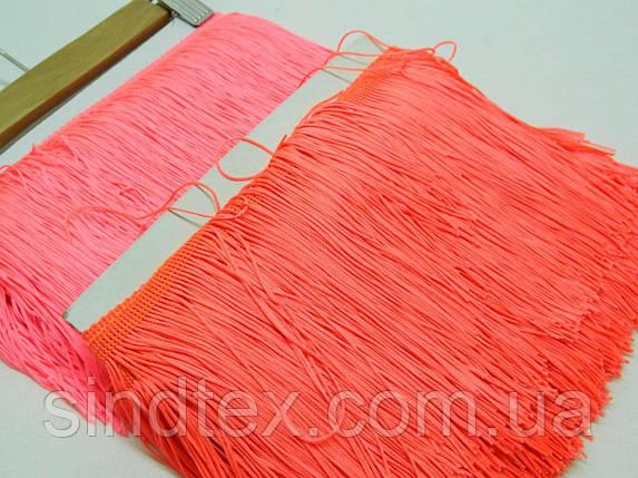 Бахрома для бальных платьев 15см х 9м  -08 (малиновый) (653-Т-0423), фото 2