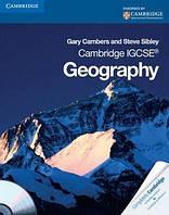 Книга Cambridge IGCSE Geography Coursebook. Cambridge International Examinations (+ CD-ROM)