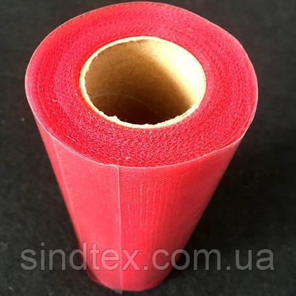 Фатин в рулонах 15см, красный 25ярд (657-Л-0511), фото 2