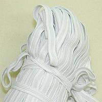 Белая резинка бельевая 8мм - Резинка для трусов и шитья (100м.) (2-2153-Л-12)