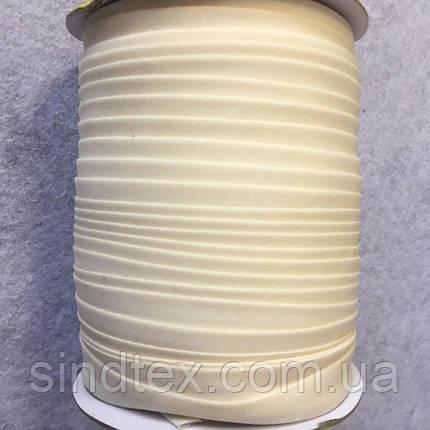 Хлопковая косая бейка,1,5см -  50% полиэстер (100м), 03 (657-Л-0048), фото 2