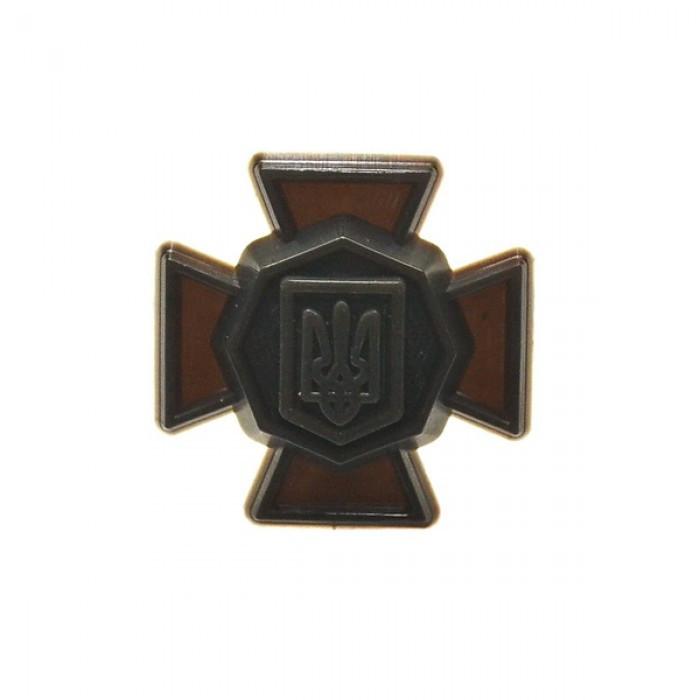 Эмблема национальной гвардии Украины (полевая, пластик)