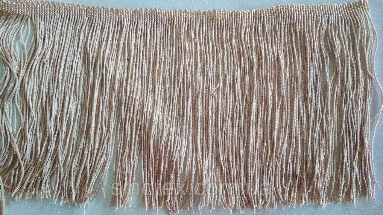 Бахрома для бальных платьев 14см х 10м  -03 (657-Л-0185)