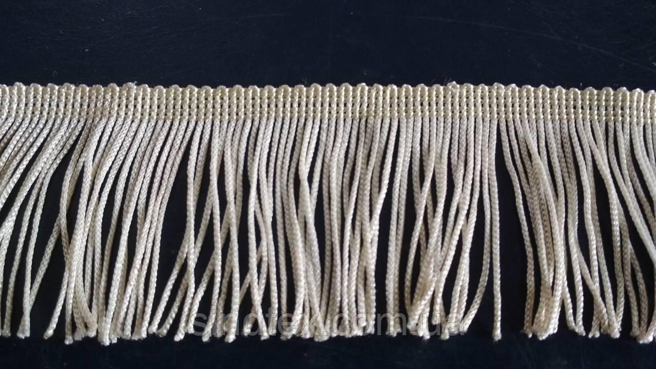 5 см бахрома 25 ярд, белая (657-Л-0385)