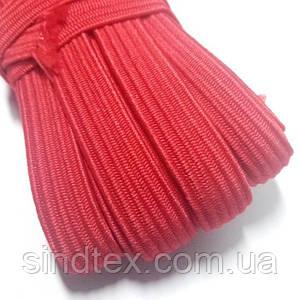 Резинка бельевая 10мм - Резинка для трусов и шитья (9-10м.) КРАСНАЯ (653-Т-0674)
