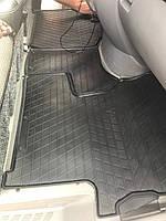 Резиновые коврики (3 шт, Stingray) Mercedes Sprinter 2006-2018 гг.