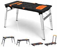 Рабочий стол для мастерской/тележка 7в1 до 250кг