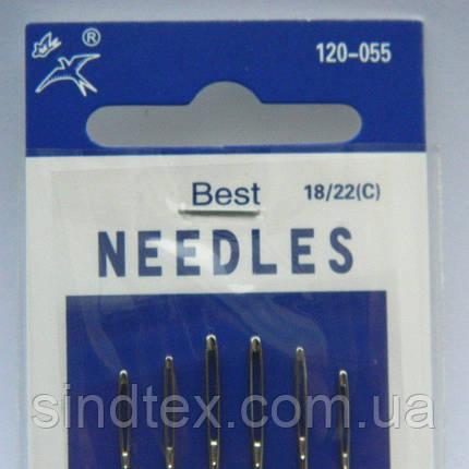 Х055 Иглы ручные NEEDLES (Иголки для ручного шитья) (657-Л-0021), фото 2