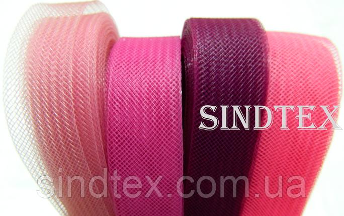 23м.Регилин (кринолин) 20мм (05-розовый) (1-2118-Е-74), фото 2