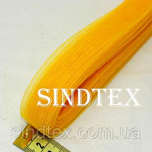 23м. Регилин (кринолин) 20мм (11-апельсин) (1-2118-Е-82)