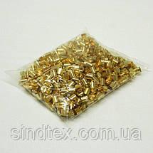 Колпачок, концевик для бисерного жгута или шнура.D-8мм, золото (657-Л-0562), фото 2