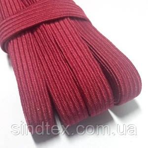 Резинка бельевая 10мм - Резинка для трусов и шитья (9-10м.) БОРДО (653-Т-0676)