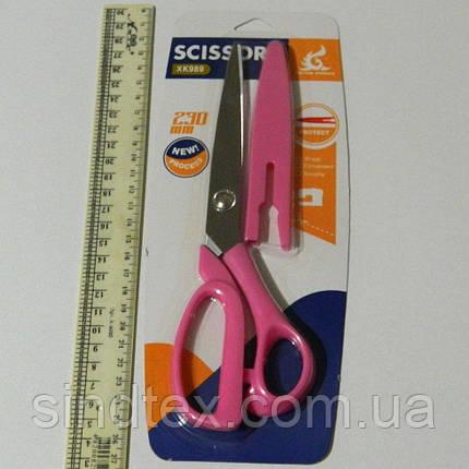 12-Ножницы портновские для кройки и шитья SCISSORS 23 см (657-Л-0463), фото 2