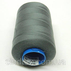 Армированные нитки Super 20/2 серые 5000 ярдов (6-2274-М-А203)