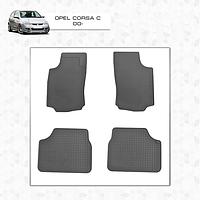 Резиновые коврики (Stingray Premium) Opel Corsa C 2000↗ гг.