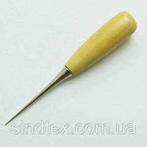 Шило портновское с деревянной рукояткой, 12 см (5-2239-О-008)