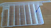 24-Пластиковая тара (контейнер, органайзер) для рукоделия и шитья 35×22 см 28 ячеек (657-Л-0225)