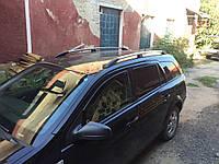 Рейлинги алюминиевые (Caravan, хром) Opel Astra H 2004-2013 гг.