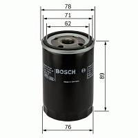 Фильтр масляный ГАЗ 3110 с дв. ROVER тип 20Т4 (Bosch). 0 451 104 026