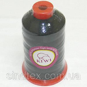 Нитки Kiwi (киви) повышенной прочности для обуви и мебели №10, черные (339-Kiwi-007)