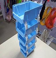 01-Пластиковая тара (контейнер, органайзер) для рукоделия и шитья 50х10см (657-Л-0202)