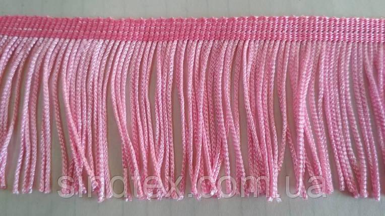 5 см бахрома 25 ярд, розовая (657-Л-0382), фото 2