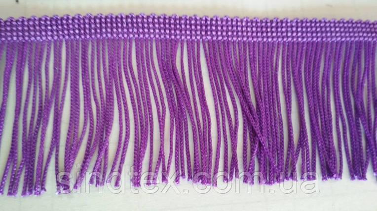 5 см бахрома 25 ярд, фиолетовая (657-Л-0384), фото 2