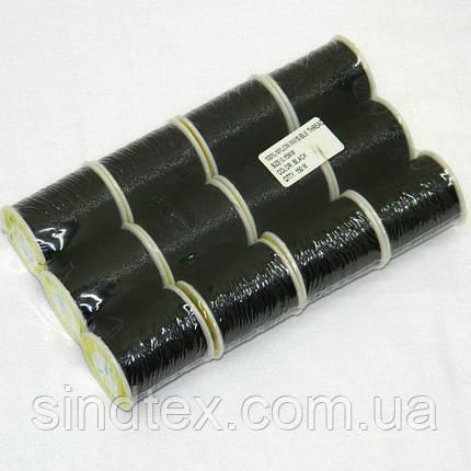 Мононить для бисера тонкая 150 м., черная (657-Л-0033), фото 2