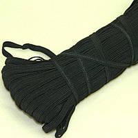 Черная резинка бельевая 8мм - Резинка для трусов и шитья (100м.) (2-2153-Л-11)