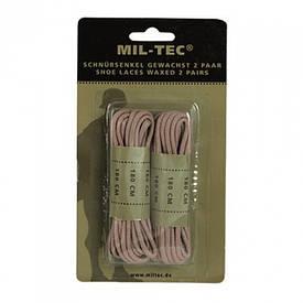Шнурки Mil-Tec 180 см койот