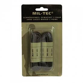 Шнурки Mil-Tec 180 см черные