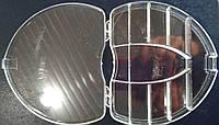 31-Пластиковая тара (контейнер, органайзер) для рукоделия и шитья 13.5×11×2 см (657-Л-0231)
