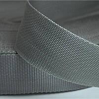 Стропа сумочная-ременная, 2,5см (бухта 50ярд.серая) (653-Т-0135)