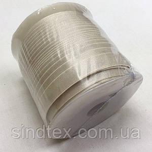 Резинка для бретель, 1,2см - СВЕТЛЫЙ БЕЖ (бобина 46м.) (653-Т-0419)
