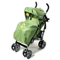 Детская прогулочная коляска-BT-681- GREEN-1