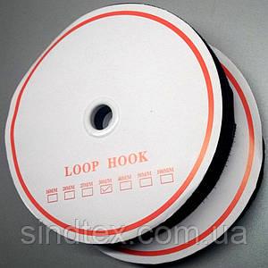 Липучка швейная пришивная 3 см Черная 22,5 м. (СИНДТЕКС-0041)