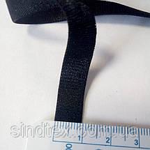 Гумка для бретель, 1см - ЧОРНА (бобіна 46м.) (653-Т-0637), фото 2