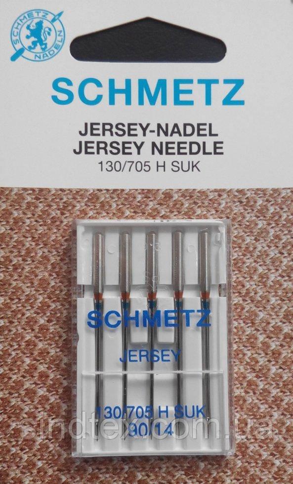 Голка Jersey 130/705 H SUK 90/14 VBS для в'язаних виробів і трикотажу (шметс-17)