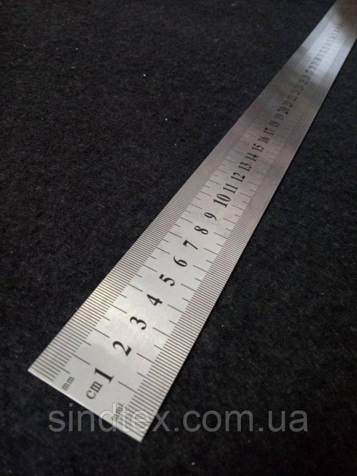 Лінійка залізна(металева жорстка) портновская, 100 см нержавіюча сталь (6-О-001)