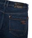 2099 Dsouaviet джинсы мужские синие на флисе зимние стрейчевые (29-38, 8 ед.), фото 5