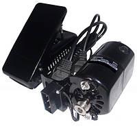Электропривод с педалью бытового оверлока 150 W