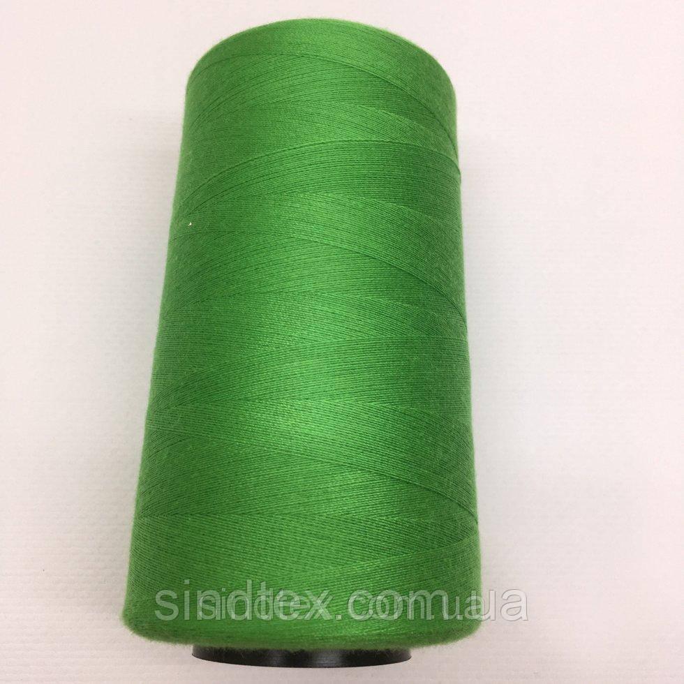Нить швейная 100% PE 40/2 цв S-150 зеленый (боб 4000ярдов) NITEX (ВЕЛЛS-150)