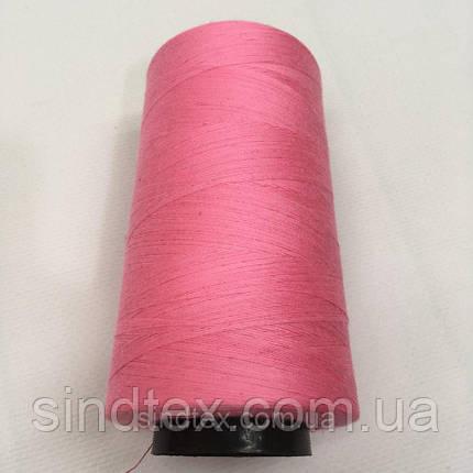 Нить швейная 100% PE 40/2 цв S-335 розовый яркий (боб 4000ярдов) NITEX (ВЕЛЛS-335), фото 2