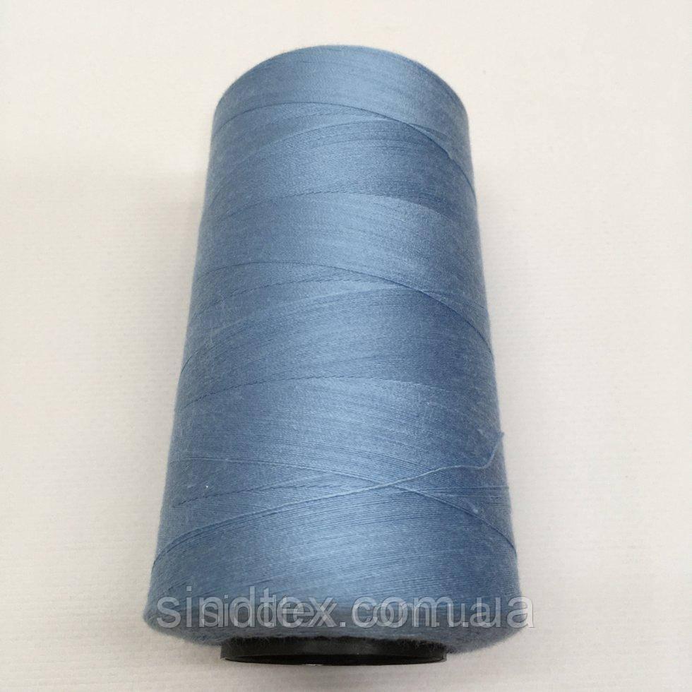 Нить швейная 100% PE 40/2 цв S-546 синий светлый (боб 4000ярдов) NITEX (ВЕЛЛS-546)