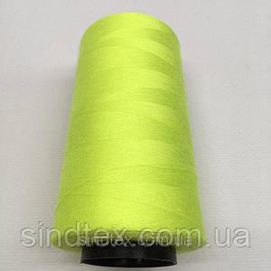 Нитка швацька 100% PE 40/2 кол S-804 зеленый неон (боб 4000ярдов) NITEX (ВЕЛЛS-804)