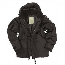 Куртка Mil-Tec с подстежкой чёрная