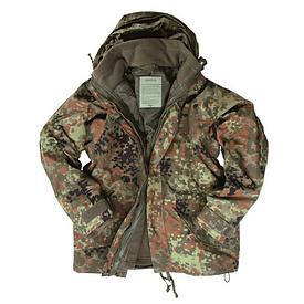 Куртка Mil-Tec с подстежкой Flecktarn