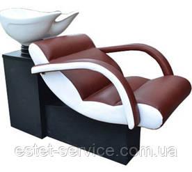 Мойка ЧИП с креслом ОНЕ с пластиковой кишкой